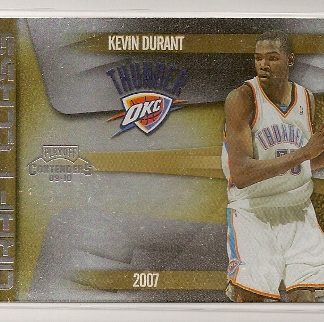 Kevin Durant 2009-10 Playoff Contenders Draft Class Insert