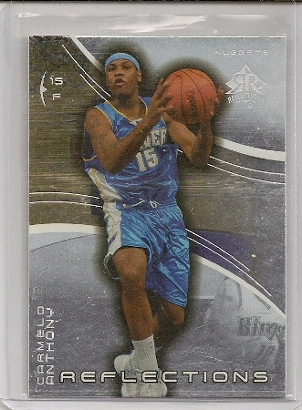 Carmelo Anthony 2003-04 Triple Dimensions Reflections Rookie Card