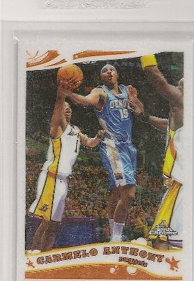 Carmelo Anthony 2005-06 Topps Chrome Basketball Card