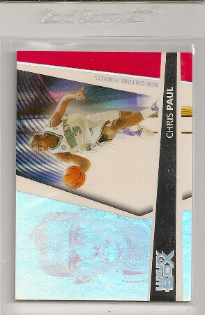 Chris Paul 2005-06 Topps Luxury Box Season Ticket Rookie Card