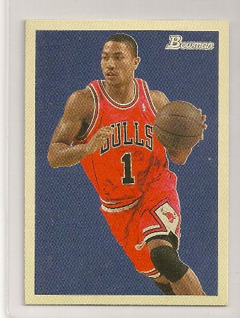 Derrick Rose 2009-10 Bowman '48 Basketball Card