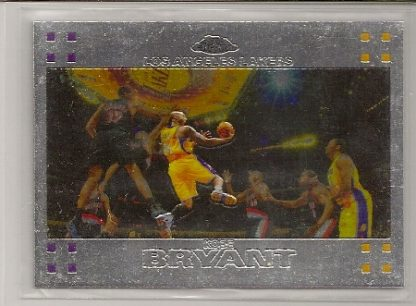 Kobe Bryant 2007-08 Topps Chrome Card