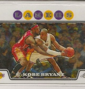 Kobe Bryant 2008-09 Topps Chrome Basketball Trading Card #24