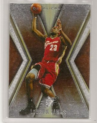 Lebron James 2005-06 Upper Deck SPX Card