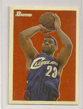 Lebron James 2009-10 Bowman '48 Basketball Trading Card