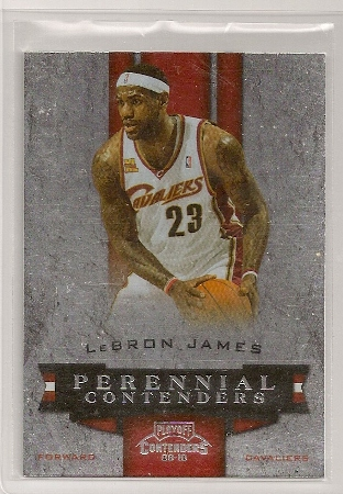 Lebron James 2009-10 Playoff Contenders Perennial Contenders Insert
