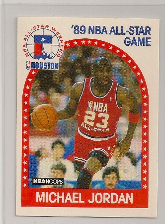 Michael Jordan 1989-90 Hoops All-Star Basketball Card
