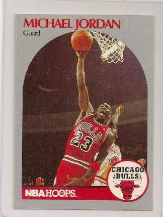 Michael Jordan 1990-91 Hoops Basketball Card