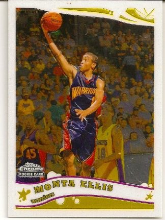 Monta Ellis 2005-06 Topps Chrome Rookie Card