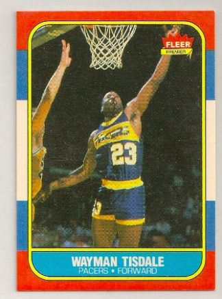 Wayman Tisdale 1986-87 Fleer Rookie Card