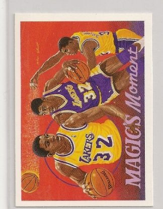 1991-92 Upper Deck Magic's Moments Basketball Card