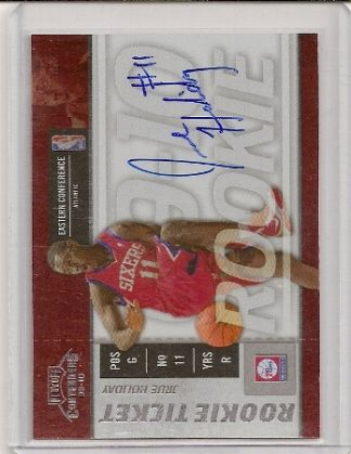 Jrue Holiday 2009-10 Playoff Contenders Rookie Ticket Auto Card