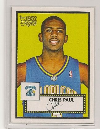 Chris Paul 2005-06 52 Topps Style Rookie Card