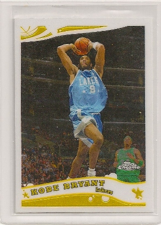 Kobe Bryant 2005-06 Topps Chrome Basketball Card