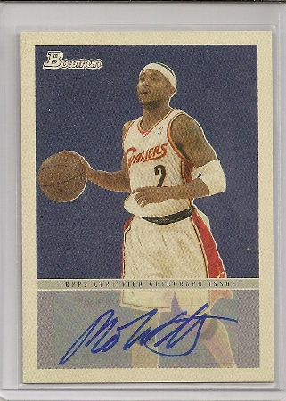 Mo Williams 2009-10 Bowman '48 Autograph Card