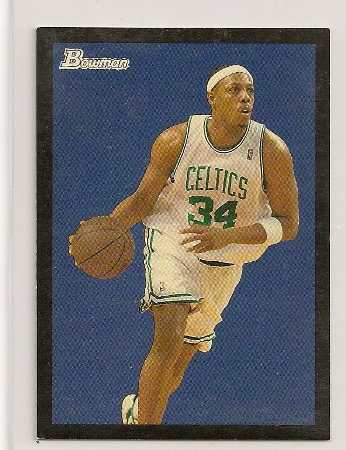 Paul Pierce 2009-10 Bowman '48 Black Insert