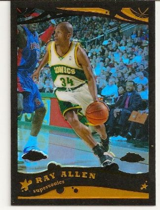 Ray Allen 2005-06 Topps Chrome Black Refractor /399