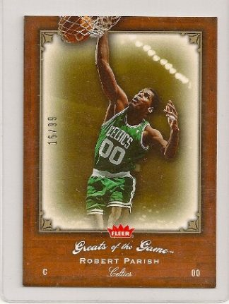 Robert Parish 2005-06 Fleer Greats of The Game Insert Card
