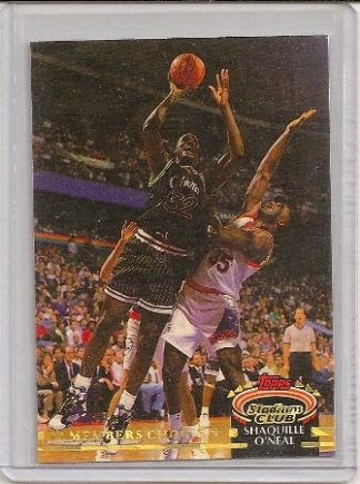Shaquille O'Neal 1992-93 Stadium Club Members Choice RC
