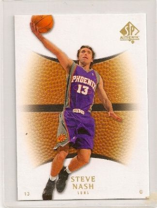 Steve Nash 2007-08 Upper Deck SP Authentic Base Card #97
