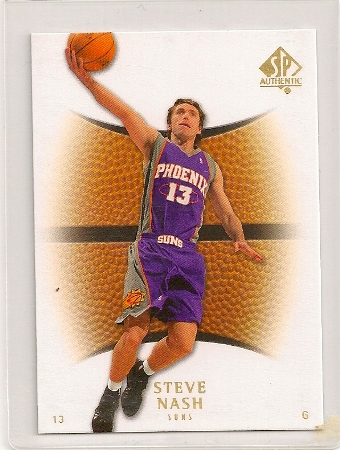 8cba6be68 Steve Nash 2007-08 Upper Deck SP Authentic Base Card  97