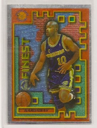 Tim Hardaway 1995-96 Topps Finest Basketball Card