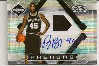 DeJuan Blair 2009-10 Limited Phenoms Auto Patch RC