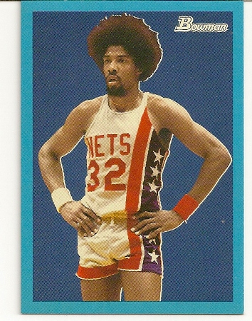 Julius Erving 2009-10 Bowman '48 Blue Insert /1948