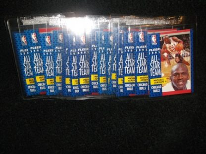 Michael Jordan 1991-92 Fleer All-Star Card Lot
