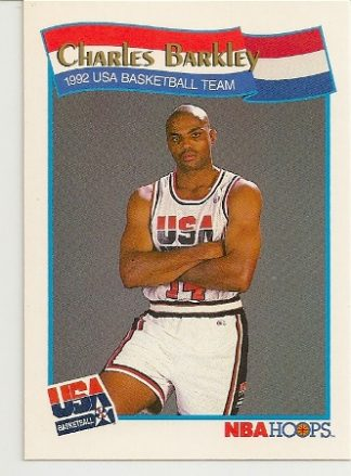 Charles Barkley 1991-92 Hoops USA McDonald's Card