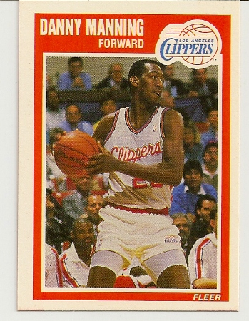 Danny Manning 1989-90 Fleer Rookie Card