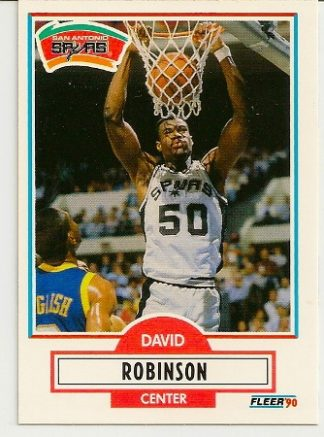 David Robinson 1990-91 Fleer Rookie Card