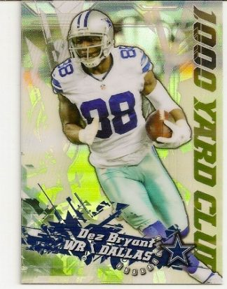 Dez Bryant 2014 Topps Chrome 1,000 Yard Club Card