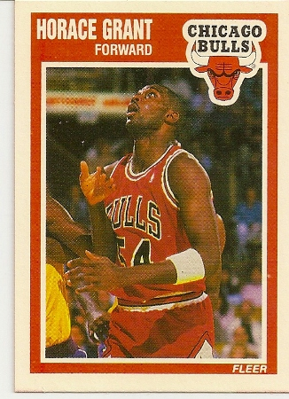 Horace Grant 1989-90 Fleer Card