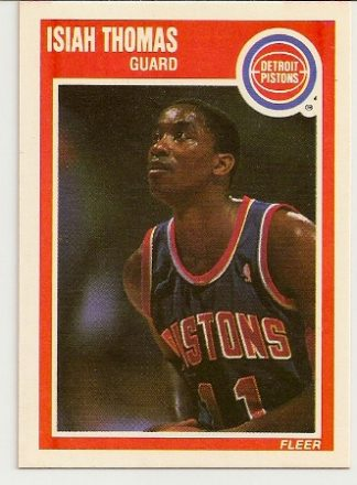 Isiah Thomas 1989-90 Fleer Card