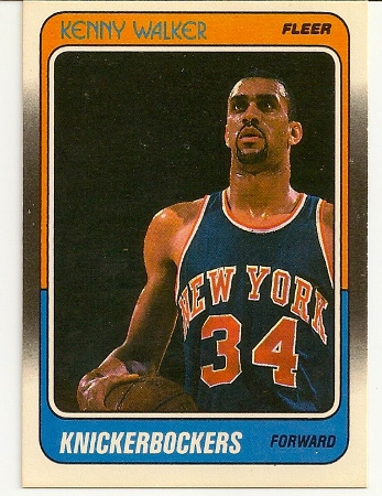 Kenny Walker 1988-89 Fleer Card