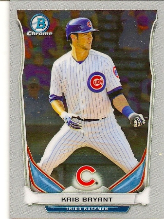Kris Bryant 2014 Bowman Chrome Rookie Card