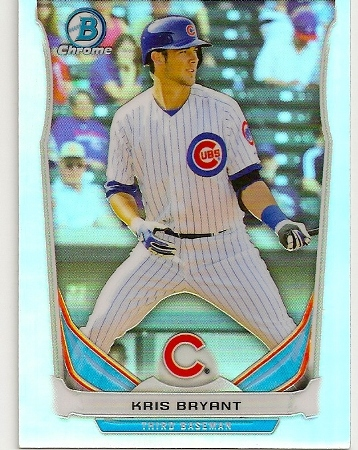 Kris Bryant 2014 Bowman Chrome Refractor Rookie Card