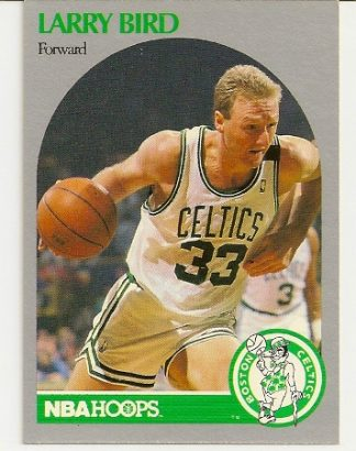 Larry Bird 1990-91 Hoops Card
