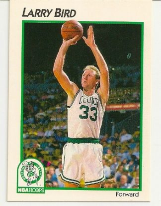 Larry Bird 1991-92 Hoops McDonald's Basketball Card