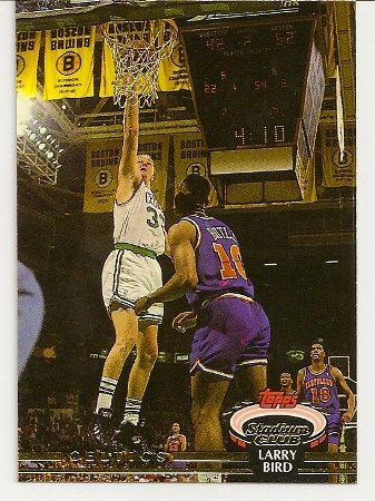 Larry Bird 1992-93 Topps Stadium Club