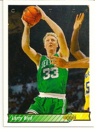 Larry Bird 1992-93 Upper Deck Short-Print Card