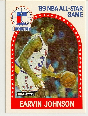 Magic Johnson 1989-90 Hoops All-Star Card