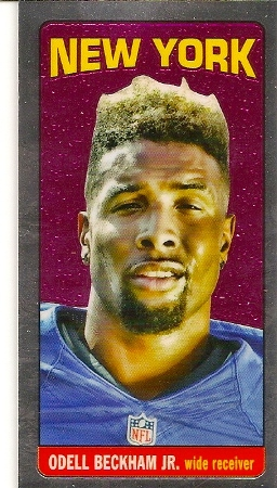 Odell Beckham, Jr 2014 Topps Chrome 1965 Rookie Card