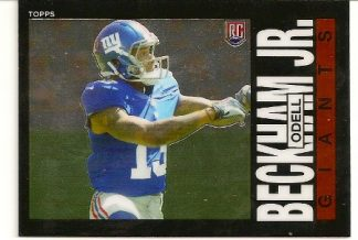 Odell Beckham, Jr 2014 Topps Chrome 1985 Rookie Card
