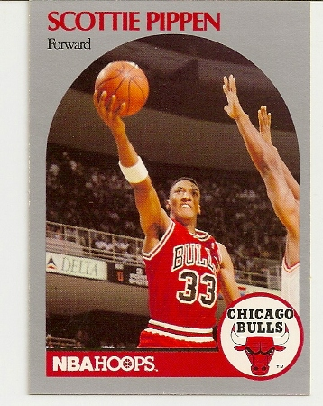 Scottie Pippen 1990-91 Hoops Card