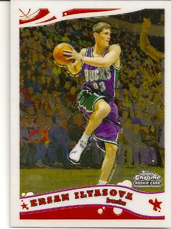 Ersan İlyasova 2005-06 Topps Chrome Rookie Card