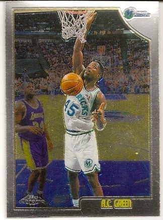 A.C. Green 1998-99 Topps Chrome Basketball Card