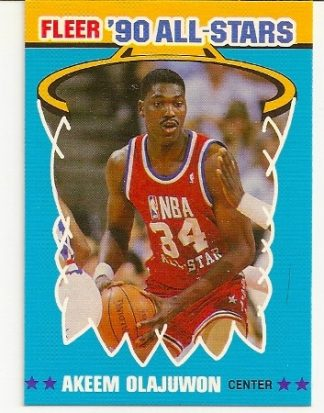 watch a0b45 7f1ca Hakeem Olajuwon Cards Archives - Basketball, Baseball And ...