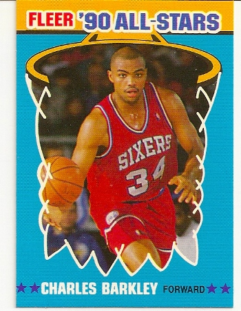 Charles Barkley1990-91 Fleer All-Star Basketball Card